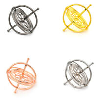 Metal Gyroscope Spinner Gyro Science Educational Learning Balance Toy Gifts LI