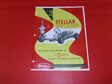 WOW! Vintage & RareSTELLAR SUPER 500 GO KART  HAND OUT ,, MAILER, SALES CATALOG
