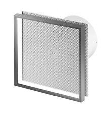 baldosas Ventilador de extractor baño 100mm/10.2cm Temporizador Sensor humedad
