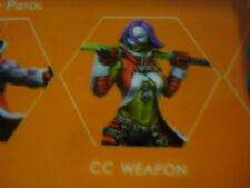 Infinity Morlock CC Weapon Nomads metal new
