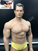 1/6 Henry Cavill Superman Head WITH Phicen Seamless Male Muscular Body M34❶USA❶