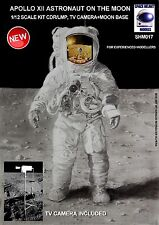 NEW!! APOLLO XII ASTRONAUT ON THE MOON, 1/12 SCALE
