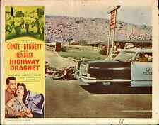 LAS VEGAS POLICE original 1954 11x14 lobby card movie poster APPLE VALLEY INN