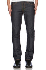 Nudie Men Jeans 111304 Grim Tim Dry Navy size 34 x 34 NWT