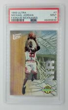 1993-94 Fleer Ultra Famous Nicknames Air Michael Jordan #7, Graded PSA 9