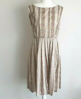 Dangerfield Floral Fit flare Sleeveless Dress Size 12