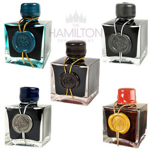 J HERBIN 1670 ANNIVERSARY INK - 5 colours available, all laced with real gold!