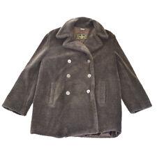 Auth FENDI Men's Coat Jacket Tops Polyester Acrylic Italy #42 Brown 61E026