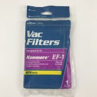 Kenmore EF-1 Vac Filter Replaces No 86889 NEW