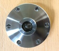 """**NEW** 2.75"""" Conflat Flange to 0.5"""" Tube OD Quick Coupling UHV Stainless Steel"""