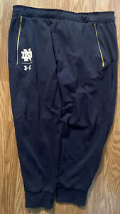 Notre Dame Football Team Issued Under Armour Pants Size 2xl #89
