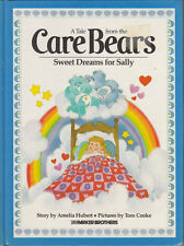 1983 Parker Brothers Care Bears Children's Book -- Sweet Dreams For Sally