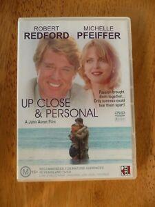UP CLOSE & PERSONAL DVD ROBERT REDFORD VERY GOOD PAL REGION 4 AUS