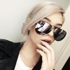 NEW QUAY X Amanda Steele Muse Black/Purple Mirror Sunglasses