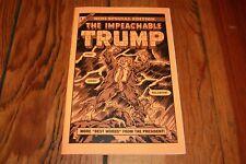The Impeachable Trump R. Sikoryak Indie Mini Comic Zine Cover Art Book (Charity)