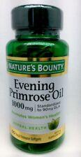 Nature's Bounty Evening Primrose Oil 1000 mg Softgels 60 Women's Health