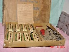 VINTAGE 1930'S MARX M10005 UNION PACIFIC STREAMLINE TRAIN SET O GAUGE HUGE BOX
