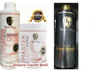1 Powder Master Mechas + 1 OX 30 + Toner New Blue (old Platinum) 1 L