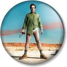 """Heisenberg Walter White Breaking Bad 1"""" Pin Button Badge Jesse Pinkman Season 1"""