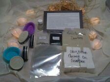 New Soap Making Kit Charcoal, Clay, Tea Tree Melt Pour Set All Natural Detoxify