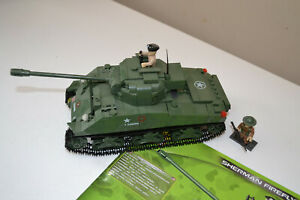 Cobi 2515 SHERMAN FIREFLY Tank WW2 complete with instructions RARE MODEL
