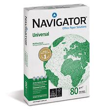 5000 Blatt NAVIGATOR 80g/m² Universal Papier DIN A3 Premiumpapier weiß