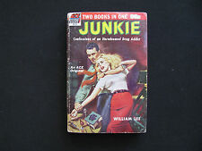 WILLIAM BURROUGHS SIGNED - JUNKIE - SIGNED BY BURROUGHS & CORSO