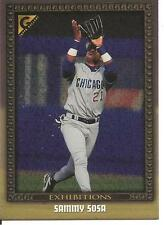 "1998 Topps Gallery #134 SAMMY SOSA ""Exhibitions"" Chicago White Sox Baseball Card"