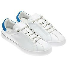 adidas Originals David Beckham Doley  White/Prime Blue US 13.5 EUR 48 2/3 UK 13