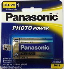 Panasonic CR-V3 Photo Lithium 3V Retail (1 pc), DLCRV3B, ELCRV3, KCRV3, LB-01