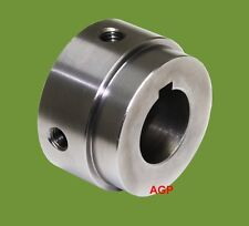 30mm WELD IN HUB/BOSS FOR SPROCKETS OR PLATEWHEELS - PRE-BORED AND KEYED
