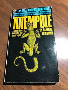 Vintage Gay Pulp Paperback - TOTEMPOLE, dated 1966