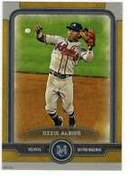 Ozzie Albies 2019 Topps Museum 5x7 Gold #5 /10 Braves