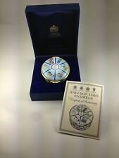 "Limited Editon Halcyon Days Enamels ""Time Capsule 2000"" Coa, Boxed, 312 of 500"