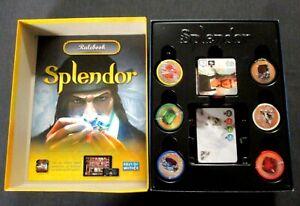 OEJ ~ Splendor ~ Renaissance Gem Merchant Board Game ~ COMPLETE