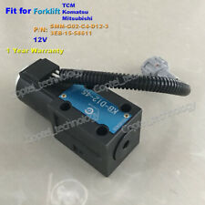 for Mitsubishi Komatsu TCM Forklift Gearbox Solenoid Valve SMM-G02-C4-D12-3 12V