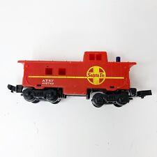 Mattel Hot Wheels Railroad Sto N Go Santa Fe Caboose Train Engine 1983 Vintage