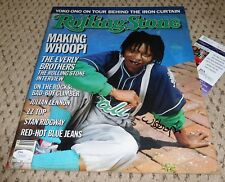 Whoopi Goldberg Signed Rolling Stone Magazine Jsa Autograph Ghost Sister Act