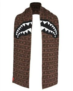 Sprayground Shark Mouth LOGO FJCK Scarve