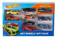 Hot Wheels Exclusive Decoration Gift Pack, 9 Piece