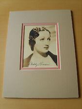 Dorothy Lamour Genuine Autographs - UACC / AFTAL.