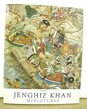 The Jenghiz Khan Minitures from the Court of Akbar the Great 1963 HB/DJ