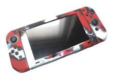 Nintendo Switch & Joy con controlador Rojo Camo Set Reino Unido de la cubierta protectora de silicona