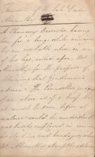 Circa 1830's English Manuscript Common Place Book filled with copied verse