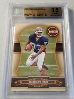 2007  DONRUSS CLASSICS Marshawn Lynch ROOKIE CARD BGS 9.5 * GEM-MT * 014/599 *