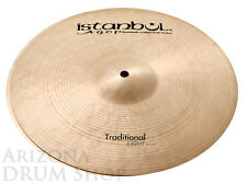 "Istanbul AGOP 14"" Traditional LIGHT Hi Hats PAIR - 951g/1087g - NEW"