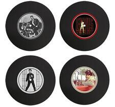 Elvis Silicone Vinyl Record Coasters | Set of 4 Coasters | Elvis Presley