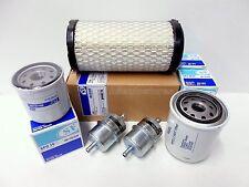Filter Kit for Kubota G18 G18HD G21 G23 GR2100 G2160 with D722 & D782