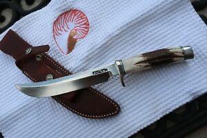 """RANDALL KNIFE Model  4 – 7"""" CUSTOM STAG  Hunter"""