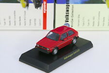 Kyosho 1/64 VW Golf GTI Red Volkswagen Miniature car Collection 2008